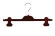 Clipgalge i sammet CPI 36cm, rödbrun sammet, 10st - Rödbrun sammet