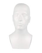 Huvud 1770, man, vit 1 st