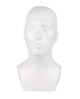 Huvud 1770, man, vit 1 st - Vit, 1 st - Ej i lager för tillfället