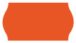 Etiketter till Trendy märkare - Röd - till Trendy Grey, 1st