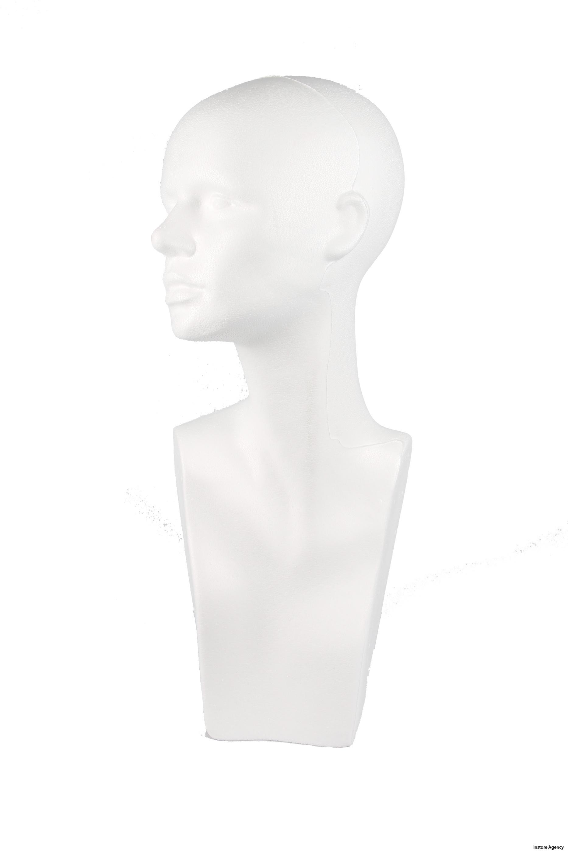 1770-00400000 Huvud kvinna sida
