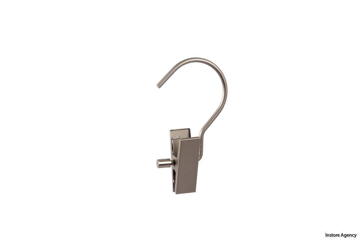 609LH-409MAT clip med lång krok
