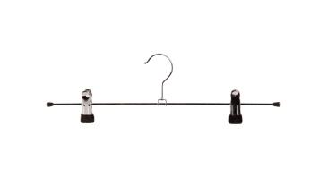 Cliphängare 688 40cm, krom/svart, 15 st - Krom/svart