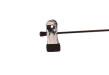 Cliphängare 688 40cm, krom/svart, 15 st