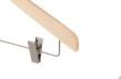 Hängare med stång och clip WT 42cm ask natur, 10 st