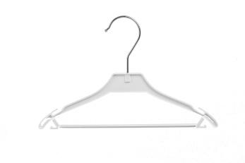 Babygalge med stång 546B 26cm, vit, 20st - Vit