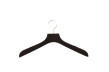 Hängare i gummilack WT 42cm, svart, 50 st - Svart, 50st
