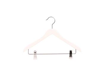 Barngalge med stång och clip 801C 35cm, vit, 10 st - Vit