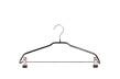 Blushängare med stång och clips 655 42 cm, 50 st - Svart