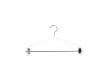 Blushängare med stång och clips 655 42 cm, 50 st - Vit