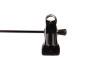 Cliphängare 688 20cm, krom/svart, 100 st