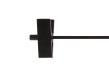 Cliphängare 612 40 cm, svart, 100 st