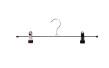 Cliphängare 688 40cm, krom/svart, 100 st - Krom/svart