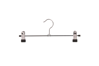 Cliphängare 688 30cm, krom/svart, 100 st - Krom/svart