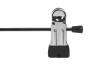 Cliphängare 688 30cm, krom/svart, 100 st