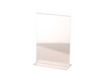 T-ställ A4 transparent, 1 st - T-ställ A4, transparent, 1 st