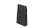 Presentförpackning 200x65x330mm, svart rutig, 40 st