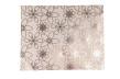 Presentpapper 57cm x 200m - Holografisk blomma vit, 1 rull