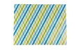 Presentpapper 57cm x 200m - Korsade linjer blå/grön, 1 rulle