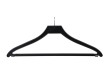 Klädhängare med stång och hotellsprint 547B 45cm, svart 170 st - Svart, 170st