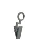 Scarvesclip 110130 4,8 cm, grå, 100st