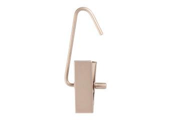 Handskhängare 610 1 clip 10 cm, 100 st - Matt silver, 100st