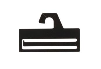 Slipshängare 322 10 cm svart, 50 st - Svart, 50st