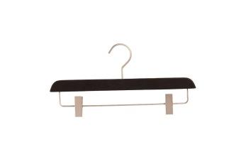 Cliphängare i gummilack WW 35cm, svart, 10 st - Svart