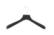 Jack/Kavajgalge i gummilack WJ 40cm, svart, 10 st - Svart (soft touch), 10st