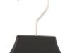 Jack/Kavajhängare i gummilack WJ 40cm, svart, 30 st