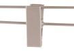 Cliphängare 601C 36cm, aluminium, 10 st