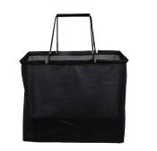 Shoppingbag Svart shoppingbag, Mesh 47Wx40Hx24G cm, 50st