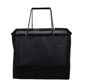 Shoppingbag Svart shoppingbag, Mesh 47Wx40Hx24G cm, 50st - Svart mesh, 50st, begränsat antal