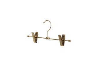 Cliphängare 612 30 cm, guld, 100 st - Guld, vintage look 100
