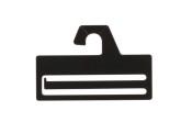 Slipshängare 322 10 cm svart, 50 st