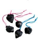 Vikbarpåse Poly, svart, 5-pack