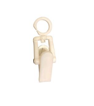 Scarvesclip KAR 4,9 cm, vit, 100 st - Vit, 100st