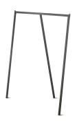 Klädstativ Brax 160x120, svart 1st
