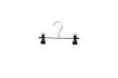 Cliphängare 688 20cm, krom/svart, 10st - Krom/svart