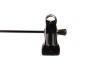 Cliphängare 688 20cm, krom/svart, 10st