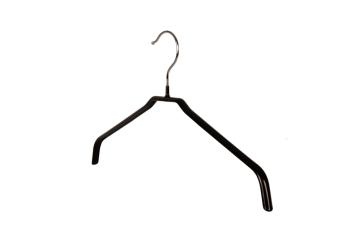 Blushängare metall 653, 42 cm, 10 st - Svart