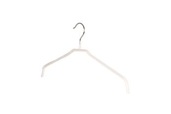 Blushängare metall 653, 42 cm, vit, 10 st - Vit, 10 st
