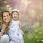 Mamma Emma & Saga 2½ år