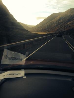 Vy Skottland