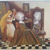 Askungen eller Den lilla glasskon av Charles Perrault. Illustration Errol Le Cain