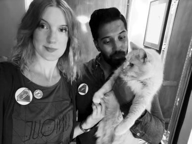 Catharina, Daniel och katten Snus