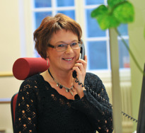 Ingela Lönander vår administratör