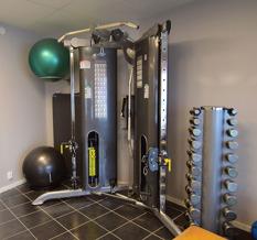 Det finns gott om utrustning för allsidig träning