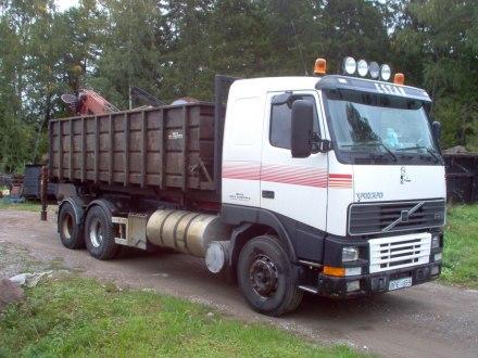 En av våra fd lastbilar