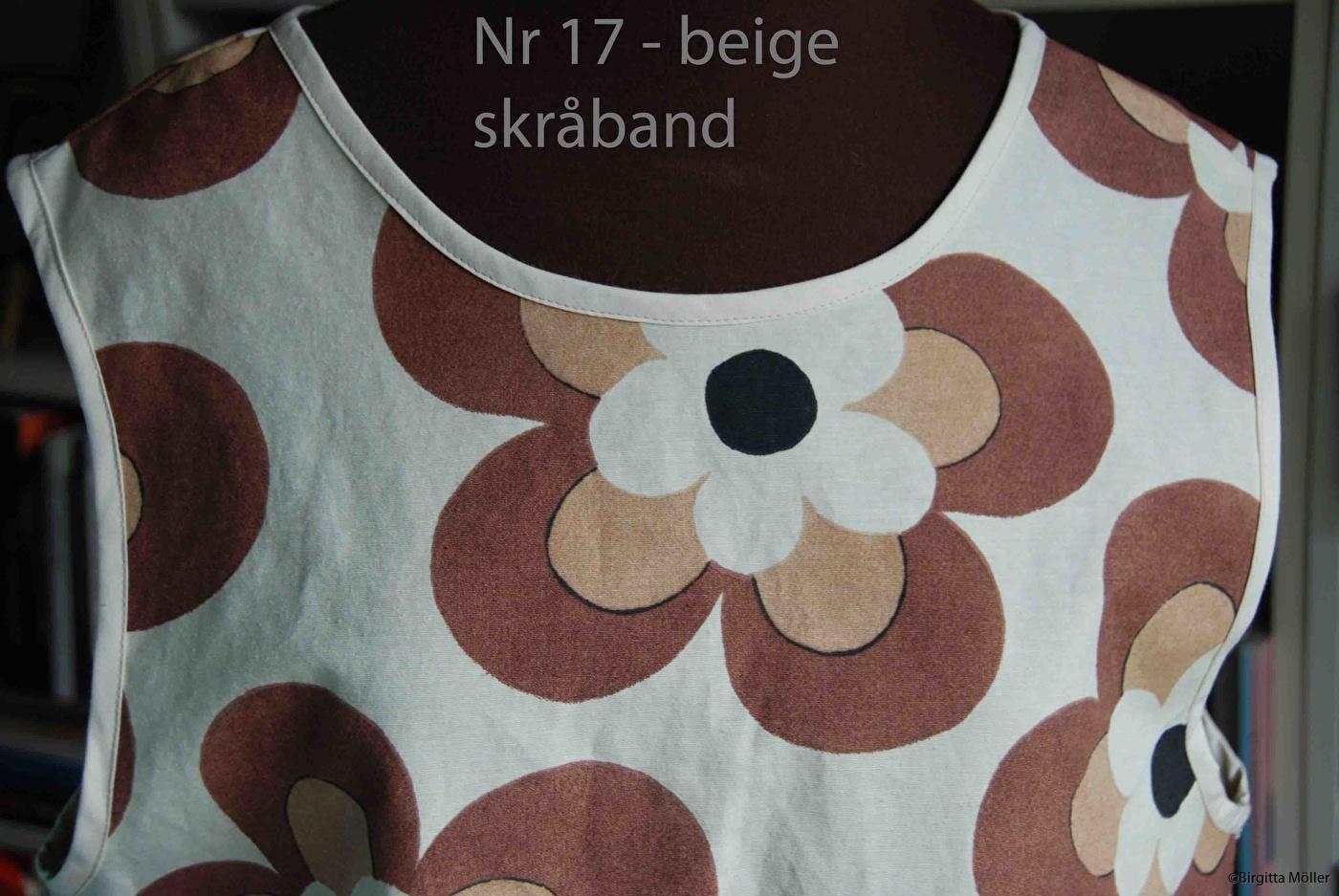 Unikt retroförkläde nr_17a